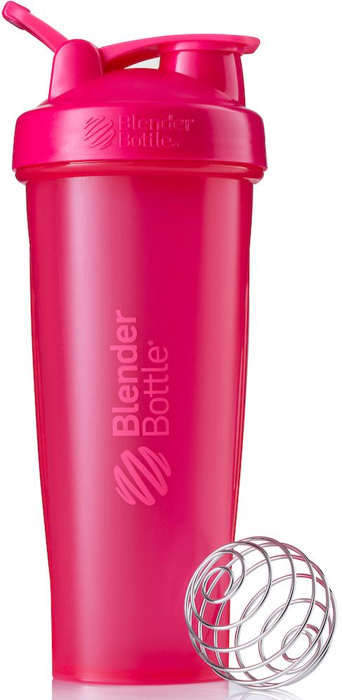 Шейкер спортивный BlenderBottle Classic Full Color, цвет: розовый, фуксия, 946 млBB-CL32-FPINШейкер Classiсот компанииBlender Bottle- многофункциональный, удобный шейкер, который произвел революцию на рынке благодаря своим лидирующим качествам, а именно: 100% герметичности, концептуальному дизайну, максимальной смешиваемости ингредиентов и запатентованным опциям BlenderBall и StayOpen. Шарик-венчик BlenderBall- венчик из 316-хирургической нержавеющей стали, который не подвержен коррозии, легко моется и обеспечивает максимальную смешиваемость любых ингредиентов. ТехнологияStayOpen- инновационная функция шейкера, которая не позволяет крышке закрываться во время питья, что зачастую приносит неудобство и дискомфорт. Качественные материалы не содержат бисфенол (BPA, BPS и другие) и фталаты, благодаря чему шейкер абсолютно безопасен для здоровья. Шейкер герметично закрывается и не допускает протекания при переноске в сумке.Шейкер BlenderBottle Classic идеально подходит как для приготовления любых спортивных и фитнес коктейлей (протеинов, гейнеров, изотоников), так и разнообразных блюд дома.Особенности: - 100% герметичная конструкция - С круглым BlenderBall венчиком внутри - Маркирован тиснением на пластике в миллилитрах и унциях - Широкое горло позволяет легко добавлять ингредиенты - Крышка с резьбой - попадание в резьбу с первого раза - Система StayOpen flip cap - крышка не бьет по носу! - GripperBars - специальные ребра на бутылке, не выскальзывает из рук - Удобный широкий носик - приятно пить. - Можно мыть в посудомоечной машине - Подходит для большинства автомобильных подстаканников - Не содержит бисфенол и фталаты - лучший пластик, как у дорогих детских бутылочек - Защищен патентами США.Простой. Мощный. Самый продаваемый шейкер в мире.Как повысить эффективность тренировок с помощью спортивного питания? Статья OZON Гид