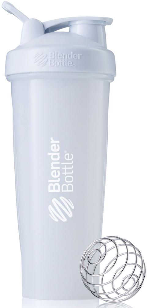 Шейкер спортивный BlenderBottle Classic Full Color, цвет: белый, 946 млBB-CL32-FWHIШейкер Classiсот компанииBlender Bottle- многофункциональный, удобный шейкер, который произвел революцию на рынке благодаря своим лидирующим качествам, а именно: 100% герметичности, концептуальному дизайну, максимальной смешиваемости ингредиентов и запатентованным опциям BlenderBall и StayOpen.Шарик-венчик BlenderBall- венчик из 316-хирургической нержавеющей стали, который не подвержен коррозии, легко моется и обеспечивает максимальную смешиваемость любых ингредиентов. ТехнологияStayOpen- инновационная функция шейкера, которая не позволяет крышке закрываться во время питья, что зачастую приносит неудобство и дискомфорт.Качественные материалы не содержат бисфенол (BPA, BPS и другие) и фталаты, благодаря чему шейкер абсолютно безопасен для здоровья. Шейкер герметично закрывается и не допускает протекания при переноске в сумке. Шейкер BlenderBottle Classic идеально подходит как для приготовления любых спортивных и фитнес коктейлей (протеинов, гейнеров, изотоников), так и разнообразных блюд дома.Особенности:- 100% герметичная конструкция- С круглым BlenderBall венчиком внутри- Маркирован тиснением на пластике в миллилитрах и унциях- Широкое горло позволяет легко добавлять ингредиенты- Крышка с резьбой - попадание в резьбу с первого раза- Система StayOpen flip cap - крышка не бьет по носу!- GripperBars - специальные ребра на бутылке, не выскальзывает из рук- Удобный широкий носик - приятно пить.- Можно мыть в посудомоечной машине- Подходит для большинства автомобильных подстаканников- Не содержит бисфенол и фталаты - лучший пластик, как у дорогих детских бутылочек- Защищен патентами США. Простой. Мощный.Самый продаваемый шейкер в мире.Как повысить эффективность тренировок с помощью спортивного питания? Статья OZON Гид