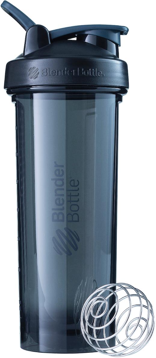 Шейкер спортивный BlenderBottle Pro32 Full Color, цвет: черный, 946 мл шейкер blenderbottle pro45 full color 1330ml grey crimson bb pr45 fcgp