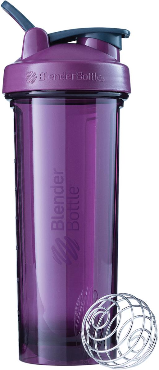 Шейкер спортивный BlenderBottle Pro32 Full Color, цвет: фиолетовый, 946 мл шейкер blenderbottle pro45 full color 1330ml grey crimson bb pr45 fcgp