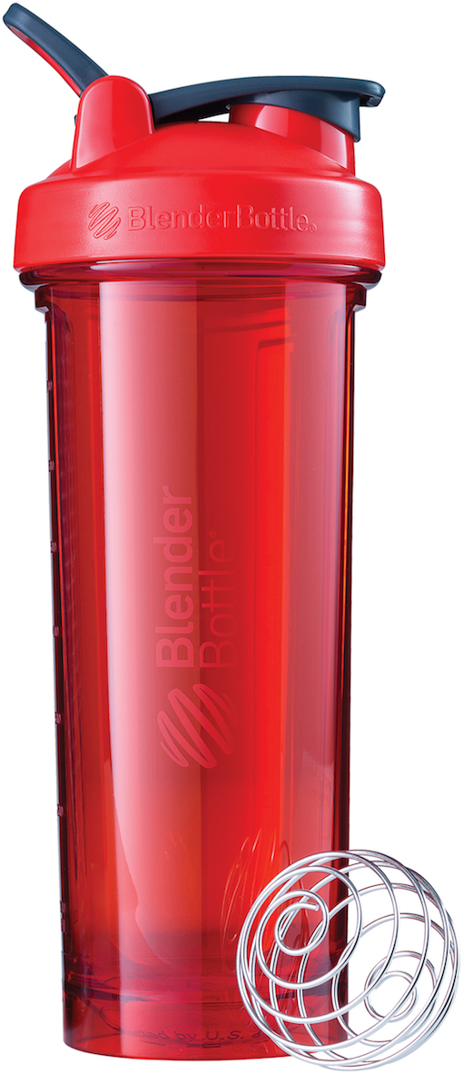 Шейкер спортивный BlenderBottle Pro32 Full Color, цвет: красный, 946 мл шейкер blenderbottle pro45 full color 1330ml grey crimson bb pr45 fcgp