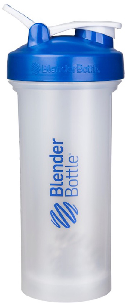 Шейкер спортивный BlenderBottle Pro45 Full Color, цвет: синий, прозрачный, 1,33 лBB-PR45-BLUEСмешивайте гейнеры, заменители пищи и подобные продукты, требующие большого объема, в самом большом шейкере BlenderBottle на сегодняшний день. Pro45 рожден быть лучшим среди больших: новый мощный стальной металлический шарик 12-Gauge BlenderBall, тяжелее обычного BlenderBall на 50%, абсолютно круглое донышко без краев внутри, и ошеломляющая вместительность - 1330 мл!Круглое донышко без краев внутри позволяет шарику BlenderBall перемешать каждый грамм продукта и не оставить шанса комочкам. Забыли сначала налить воду? Не переживайте. Комочков не будет.- 12-Gauge BlenderBall на 50% тяжелее обычного BlenderBall для перемешивания самых густых коктейлей. Ваш напиток всегда будет однородным и вкусным.- Огромная вместительность 1330 мл подходит для смешивания любых гейнеров. Или возьмите с собой воды на целый день!- Широкое горлышко не позволит насыпать гейнер, протеин или заменитель пищи мимо.- Внутри Pro45 полностью можно разместить контейнеры BlenderBottle ProStak Expansion Pak – экономьте место в вашей сумке.Особенности:- Новый запатентованный 12-Gauge BlenderBall- 100% герметичный шейкер- Огромная емкость - 1330 мл!- Широкое горлышко- Шкала в миллилитрах и унциях- Можно мыть в посудомоечной машине - Круглое основание внутри для максимального смешивания всех ингредиентов- Носик защищен от прикосновений для гигиены питья- Безопасный пластик не содержит бисфенол (BPA, BPS и другие) и фталаты. Как повысить эффективность тренировок с помощью спортивного питания? Статья OZON Гид