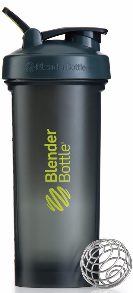 Шейкер спортивный BlenderBottle Pro45 Full Color, цвет: серый, зеленый, 1,33 л шейкер спортивный blenderbottle pro45 full color цвет черный 1 33 л