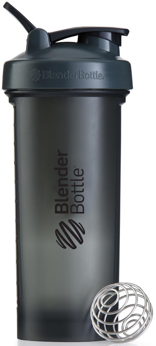Шейкер спортивный BlenderBottle Pro45 Full Color, цвет: серый, черный, 1,33 лBB-PR45-FGBKСмешивайте гейнеры, заменители пищи и подобные продукты, требующие большого объема, в самом большом шейкере BlenderBottle на сегодняшний день. Pro45 рожден быть лучшим среди больших: новый мощный стальной металлический шарик 12-Gauge BlenderBall, тяжелее обычного BlenderBall на 50%, абсолютно круглое донышко без краев внутри, и ошеломляющая вместительность - 1330 мл!Круглое донышко без краев внутри позволяет шарику BlenderBall перемешать каждый грамм продукта и не оставить шанса комочкам. Забыли сначала налить воду? Не переживайте. Комочков не будет.- 12-Gauge BlenderBall на 50% тяжелее обычного BlenderBall для перемешивания самых густых коктейлей. Ваш напиток всегда будет однородным и вкусным.- Огромная вместительность 1330 мл подходит для смешивания любых гейнеров. Или возьмите с собой воды на целый день!- Широкое горлышко не позволит насыпать гейнер, протеин или заменитель пищи мимо.- Внутри Pro45 полностью можно разместить контейнеры BlenderBottle ProStak Expansion Pak – экономьте место в вашей сумке.Особенности:- Новый запатентованный 12-Gauge BlenderBall- 100% герметичный шейкер- Огромная емкость - 1330мл!- Широкое горлышко- Шкала в миллилитрах и унциях- Можно мыть в посудомоечной машине - Круглое основание внутри для максимального смешивания всех ингредиентов- Носик защищен от прикосновений для гигиены питья- Безопасный пластик не содержит бисфенол (BPA, BPS и другие) и фталаты