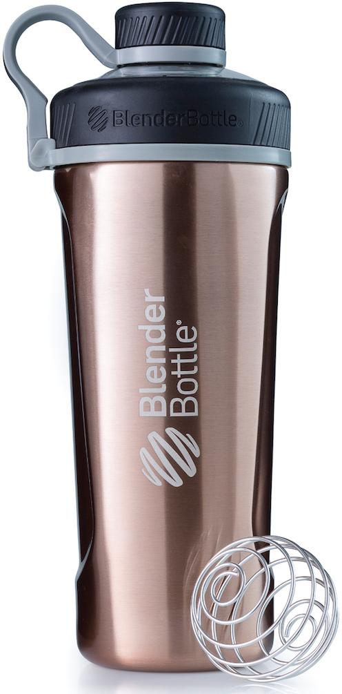Шейкер спортивный BlenderBottle  Radian Insulated Stainless , цвет: медь, 769 мл - Шейкеры и бутылки