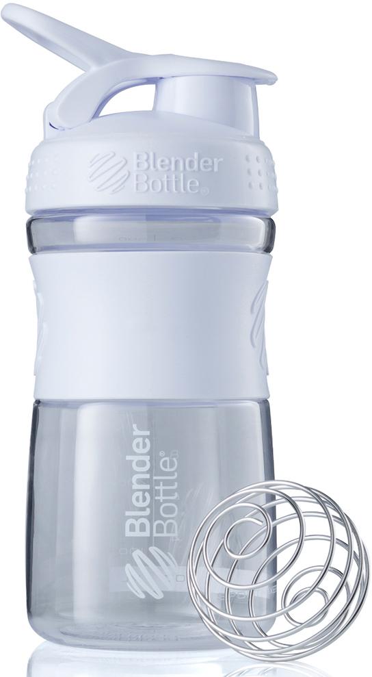 Шейкер спортивный BlenderBottle SportMixer, цвет: белый, 591 млBB-SM20-CWHIСтиль, инновации и универсальность в равной мере. BlenderBottle SportMixer принял вызов Вашей активной, деловой и спортивной жизни. Новое понимание, что значит быть современной «бутылкой для воды»Идеален для:- Воды- Смешивания любых напитков- Электролитов- Энергетических напитков- Заменителей пищи- Пищевых добавок- Протеиновые смеси- Смузи и шейки- Смеси с клетчаткой и многое другоеПрочный. Не впитывает запахи. Безопасный.SportMixer остается прочным и прозрачным в течение всего срока эксплуатации. Он изготовлен из безопасного пластика с закрытыми порами, Eastman Tritan, который не содержит бисфенолы (BPA, BPS и другие) и фталаты. Материал не выделяет вредных веществ и не впитывает запахи, а значит вы сможете в полной мере насладиться вкусом вашего напитка не переживая за свое здоровье и здоровье ваших близких!Закройте, подвесьте на сумке и носите с собой.Удобное кольцо на крышке позволяет легко крепить SportMixer к сумке или рюкзаку и взять его собой в тренажерный зал или в офис. Кольцо SportLoop разработано таким образом, что при любом весе бутылки и нагрузке крышка останется закрытой.Не выскользнет из рук.Ребра на крышке и объемное изображение на резиновом SportGrip обеспечивает крепкое сцепление даже со влажной ладонью, трясете ли вы питательный или протеиновый коктейль, или держите его в руке во время утренней пробежки.СмешивайЧто-то больше, чем просто вода? Запатентованный шарик-венчик BlenderBall смешивает энергетические напитки и электролиты, протеиновые коктейли и многое другое, легко! Шарик BlenderBall разворачивается внутри бутылки, смешивая Ваши напитки до однородной консистенции, каждый раз, сотни раз. Изготовлен из 316-хирургической нержавеющей стали, что позволяет не вынимать BlenderBall из бутылки с Вашим напитком: он не ржавеет и не подтвержден коррозии.