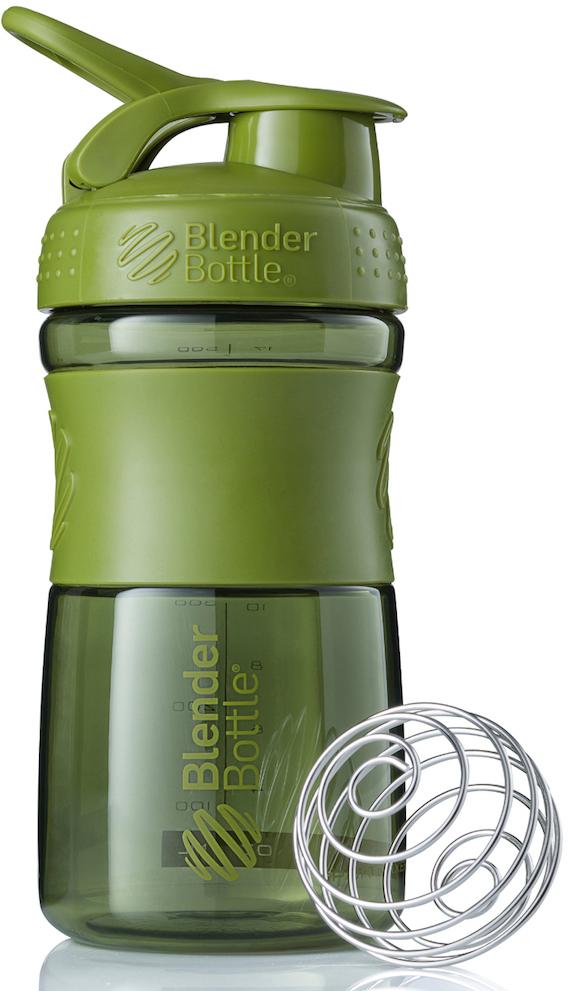 Шейкер спортивный BlenderBottle SportMixer, цвет: оливковый, 591 млBB-SM20-MGREСтиль, инновации и универсальность в равной мере. BlenderBottle SportMixer принял вызов вашей активной, деловой и спортивной жизни. Новое понимание, что значит быть современной бутылкой для воды.Идеален для:- Воды- Смешивания любых напитков- Электролитов- Энергетических напитков- Заменителей пищи- Пищевых добавок- Протеиновые смеси- Смузи и шейки- Смеси с клетчаткой и многое другое.Прочный. Не впитывает запахи. Безопасный.SportMixer остается прочным и прозрачным в течение всего срока эксплуатации. Он изготовлен из безопасного пластика с закрытыми порами, Eastman Tritan, который не содержит бисфенолы (BPA, BPS и другие) и фталаты. Материал не выделяет вредных веществ и не впитывает запахи, а значит вы сможете в полной мере насладиться вкусом вашего напитка не переживая за свое здоровье и здоровье ваших близких!Закройте, подвесьте на сумке и носите с собой.Удобное кольцо на крышке позволяет легко крепить SportMixer к сумке или рюкзаку и взять его собой в тренажерный зал или в офис. Кольцо SportLoop разработано таким образом, что при любом весе бутылки и нагрузке крышка останется закрытой.Не выскользнет из рук.Ребра на крышке и объемное изображение на резиновом SportGrip обеспечивает крепкое сцепление даже со влажной ладонью, трясете ли вы питательный или протеиновый коктейль, или держите его в руке во время утренней пробежки.Смешивай!Что-то больше, чем просто вода? Запатентованный шарик-венчик BlenderBall смешивает энергетические напитки и электролиты, протеиновые коктейли и многое другое, легко! Шарик BlenderBall разворачивается внутри бутылки, смешивая ваши напитки до однородной консистенции, каждый раз, сотни раз. Изготовлен из 316-хирургической нержавеющей стали, что позволяет не вынимать BlenderBall из бутылки с вашим напитком: он не ржавеет и не подтвержден коррозии.Как повысить эффективность тренировок с помощью спортивного питания? Статья OZON Гид