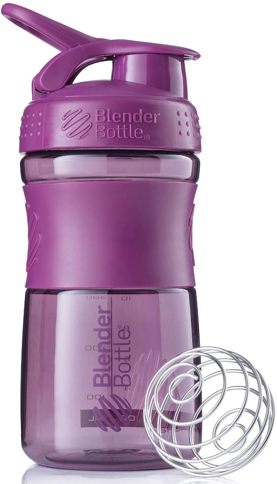 Шейкер спортивный BlenderBottle SportMixer, цвет: фиолетовый, 591 млBB-SM20-PLUMСтиль, инновации и универсальность в равной мере. BlenderBottle SportMixer принял вызов вашей активной, деловой и спортивной жизни. Новое понимание, что значит быть современной бутылкой для воды. Идеален для: - Воды - Смешивания любых напитков - Электролитов - Энергетических напитков - Заменителей пищи - Пищевых добавок - Протеиновые смеси - Смузи и шейки - Смеси с клетчаткой и многое другое.Прочный. Не впитывает запахи. Безопасный. SportMixer остается прочным и прозрачным в течение всего срока эксплуатации. Он изготовлен из безопасного пластика с закрытыми порами, Eastman Tritan, который не содержит бисфенолы (BPA, BPS и другие) и фталаты. Материал не выделяет вредных веществ и не впитывает запахи, а значит вы сможете в полной мере насладиться вкусом вашего напитка не переживая за свое здоровье и здоровье ваших близких!Закройте, подвесьте на сумке и носите с собой. Удобное кольцо на крышке позволяет легко крепить SportMixer к сумке или рюкзаку и взять его собой в тренажерный зал или в офис. Кольцо SportLoop разработано таким образом, что при любом весе бутылки и нагрузке крышка останется закрытой.Не выскользнет из рук. Ребра на крышке и объемное изображение на резиновом SportGrip обеспечивает крепкое сцепление даже со влажной ладонью, трясете ли вы питательный или протеиновый коктейль, или держите его в руке во время утренней пробежки.Смешивай! Что-то больше, чем просто вода? Запатентованный шарик-венчик BlenderBall смешивает энергетические напитки и электролиты, протеиновые коктейли и многое другое, легко! Шарик BlenderBall разворачивается внутри бутылки, смешивая ваши напитки до однородной консистенции, каждый раз, сотни раз. Изготовлен из 316-хирургической нержавеющей стали, что позволяет не вынимать BlenderBall из бутылки с вашим напитком: он не ржавеет и не подтвержден коррозии.Как повысить эффективность тренировок с помощью спортивного питания? Статья OZON Гид