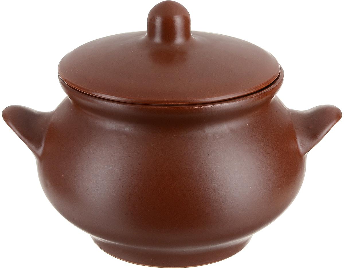Горшочек для запекания Борисовская керамика Русский, 950 млШЛК14458156Горшок для жаркого Русский ШЛК14458156. Материал: Керамика. Объем: 1,3