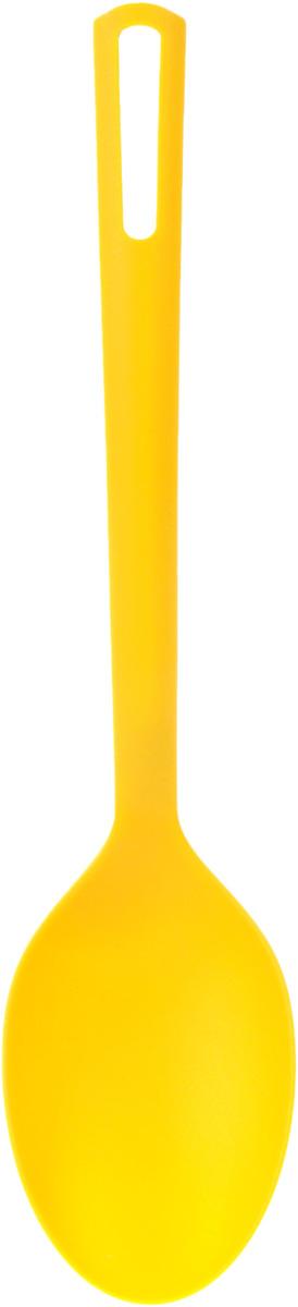 Ложка кухонная Attribute Gadget ABC, цвет: желтыйAGA030_желтыйЛожка кухонная Attribute Gadget ABC отличается оригинальным дизайном и функциональностью. Изготовлена из пищевого нейлона, безопасного для здоровья материала. Не впитывает запахи. Выдерживает температуру до 200°С. Изделие можно использовать в эмалированной посуде, посуде из нержавеющей стали и с антипригарным покрытием.Допустимо мыть в посудомоечной машине.