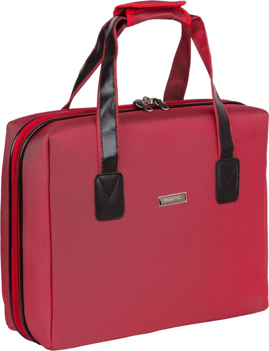 Бьюти–кейс Polar, цвет: красный, 38 х 12 х 31 см. П7087