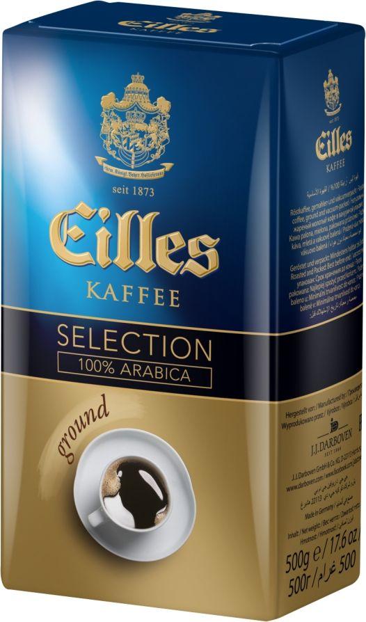 J.J. Darboven Eilles Selection Filterkaffe кофе молотый, 500 г кофе в капсулах professo selection 8шт proffi