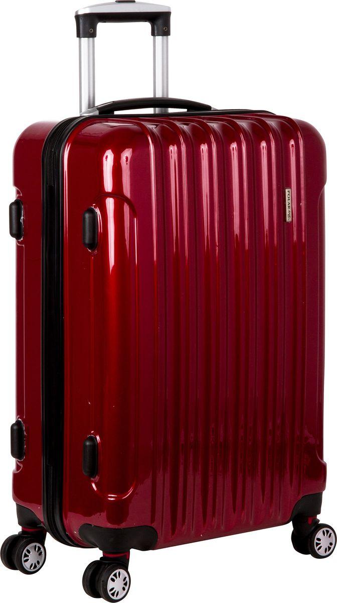 Чемодан Polar, цвет: бордовый, 109 л. Р1006-28БРР1006-28БРСуперлегкий пластиковый чемодан Спиннер Polar. Материал ABS- пластик максимально устойчив к деформации. Кроме того, он обладает повышенной гибкостью, что позволяет материалу не ломаться и не трескаться при внешних нагрузках. Наши чемоданы отлично подходят для перевозки хрупких вещей. Пластик отлично защищает внутреннее содержание от любых внешних воздействий.