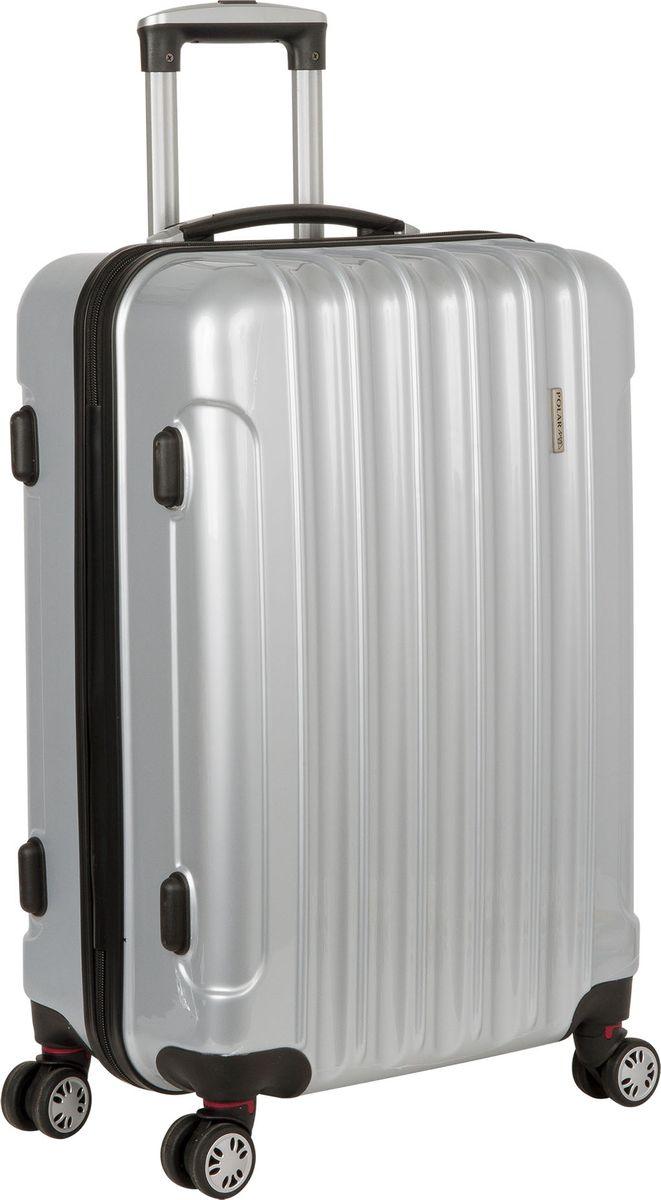 Чемодан  Polar , цвет: серебристый, 38,5 л - Чемоданы и аксессуары