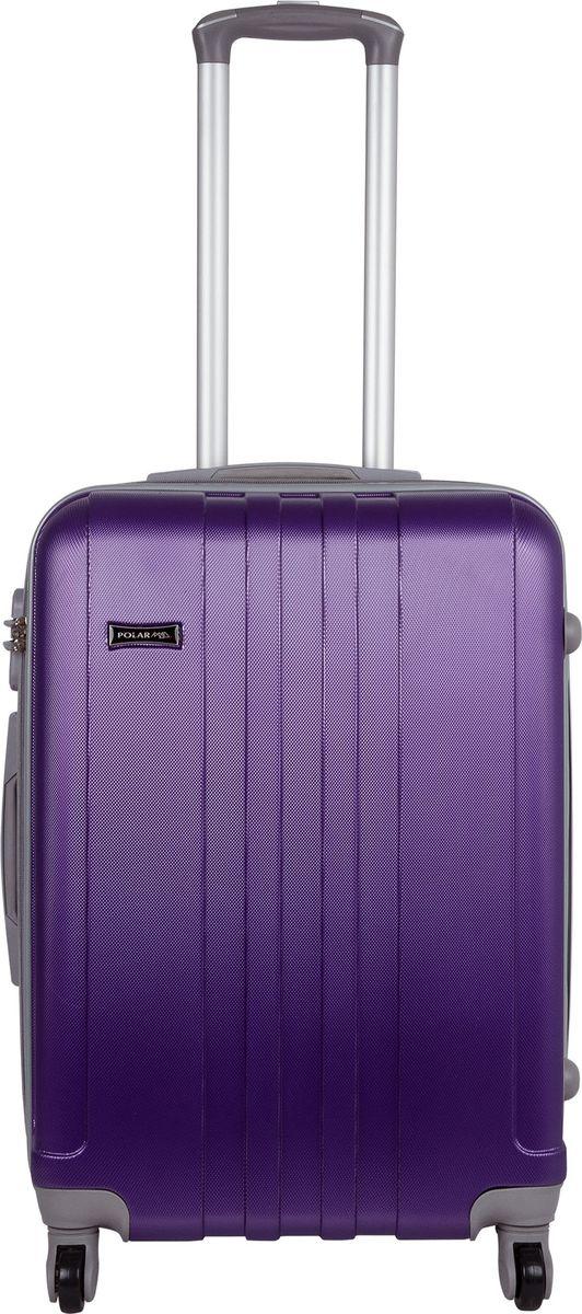 Чемодан Polar, цвет: фиолетовый, 53 л. Р12017-22ФЛР12017-22ФЛНеубиваемые пластиковые чемоданы на четырех колесиках с кодовым замком и выдвижной тележкой.Внутри подкладка из полиэстра.