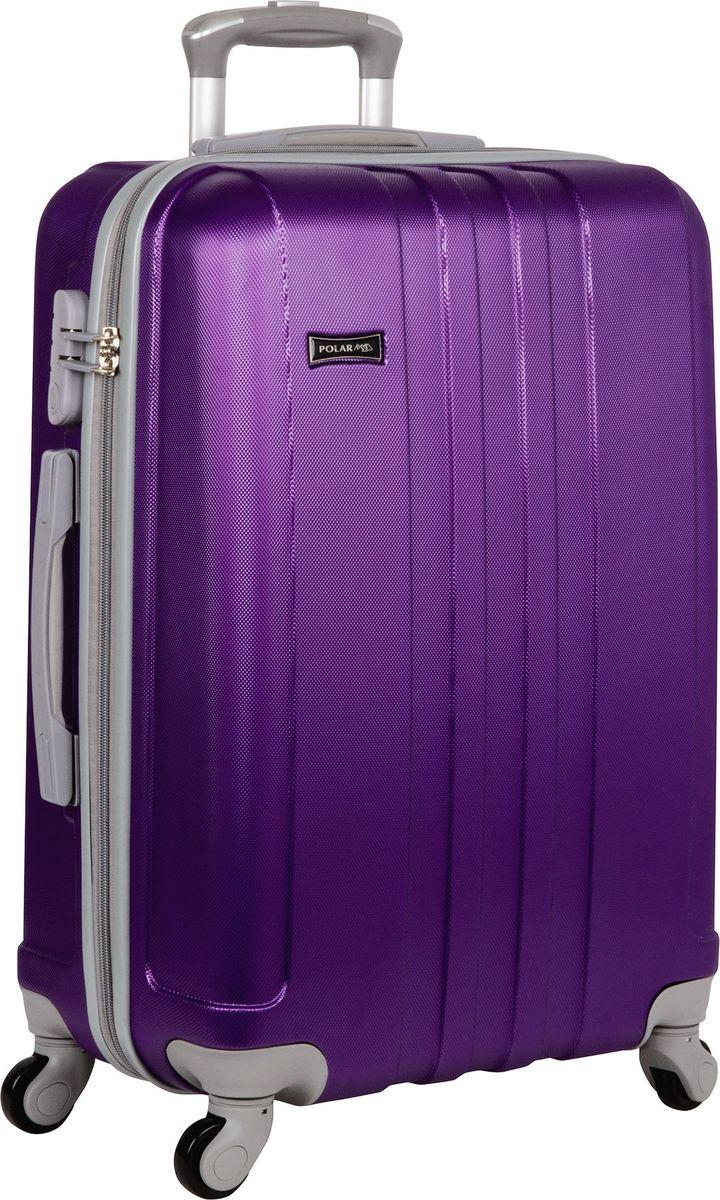 Чемодан Polar, цвет: фиолетовый, 88 л. Р12017-26ФЛР12017-26ФЛНеубиваемые пластиковые чемоданы на четырех колесиках с кодовым замком и выдвижной тележкой.Внутри подкладка из полиэстра.