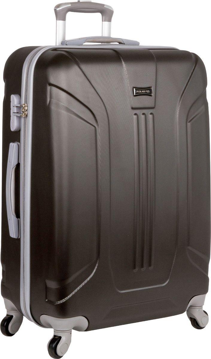 Чемодан Polar, цвет: темно-серый, 51 л. Р12029-21ТСР12029-21ТСНеубиваемые пластиковые чемоданы на четырех колесиках с кодовым замком и выдвижной тележкой.Внутри подкладка из полиэстра.