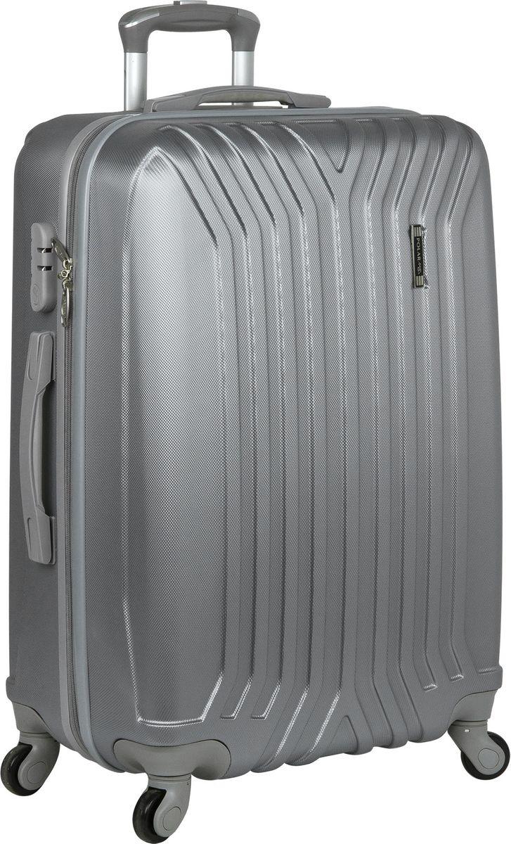 Чемодан Polar, на колесах, цвет: светло-серый, 111 л. Р12032-28ССР12032-28ССПрактичный пластиковый чемодан на четырех колесиках с кодовым замком и выдвижной тележкой. Одна секция чемодана с креплением резинками для одежды. Вторая секция застегивается на молнию для удобства упаковки вещей. Чемоданы выполнены из высококачественного пластика, разработанного специально для условий эксплуатации в зимнее время. Благодаря новому составу пластик не трескается и не боится перепадов температур. Вес: 3,96 кг. Размер: 57 х 75 х 29 см.Как выбрать чемодан. Статья OZON Гид