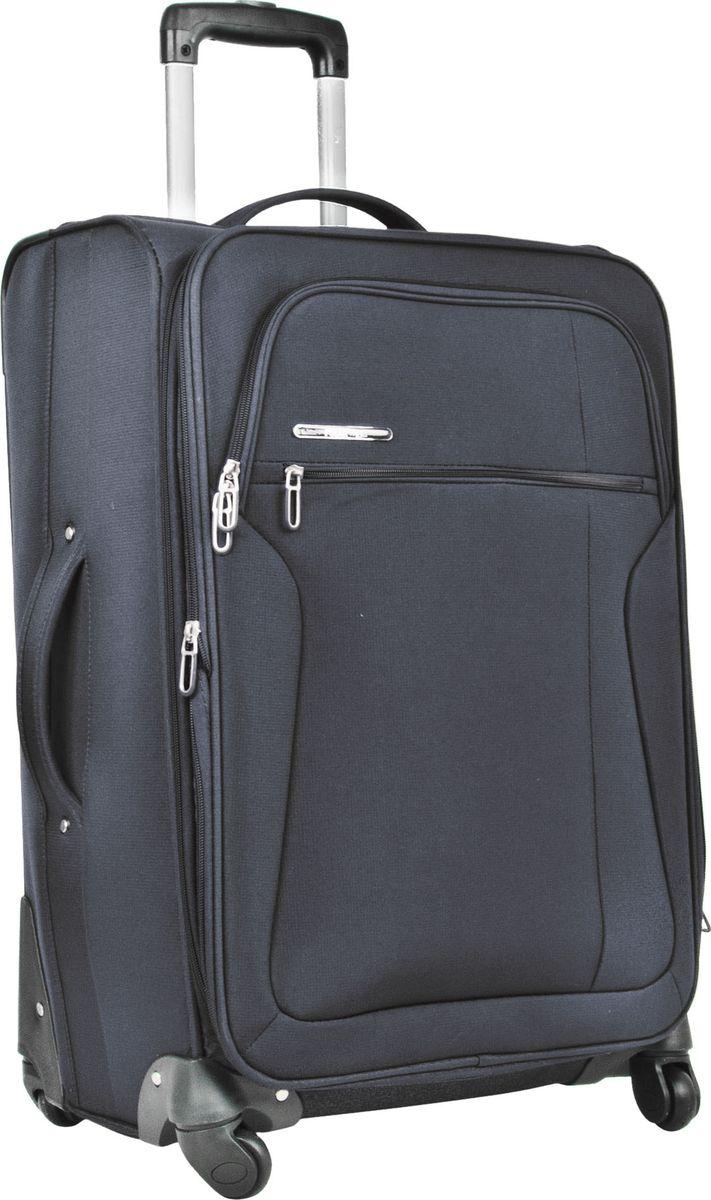 Чемодан Polar, на колесах, цвет: темно-серый, 95 л. Р3021-28ТСР3021-28ТССупер-легкий чемодан Polar. Основное отделение на подкладке из нейлона имеет фиксирующие ремни и дополнительные карманы. Также, основное отделение можно увеличить в объеме, расстегнув молнию, при этом чемодан увеличивается в толщину на 5 см. Ручка выдвигается на 40 см, расположена внутри корпуса чемодана, что способствует большей прочности и защите от ударов при разгрузке/погрузке чемодана. Снаружи на передней стенке - два больших кармана на молнии. Надежные четыре колеса на подшипниках вращаются на 360 градусов. Кодовый замок в комплект не входит. Можно отдельно приобрести кодовый навесной замок.Вес: 4,2 кг; объем: 95 л.Размер: 71 х 45 х 30 (+5) см.Как выбрать чемодан. Статья OZON Гид