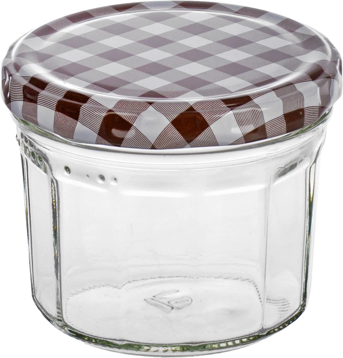 Банка для сыпучих продуктов Einkochwelt Twist, цвет: прозрачный, коричневый, 240 мл170006_прозрачный, белый, коричневыйБанка для сыпучих продуктов Einkochwelt Twist изготовлена из прочного стекла и дополнена металлической крышкой. Такая модель станет незаменимым помощником на любой кухне. В ней будет удобно хранить сыпучие продукты, такие, как чай, кофе, соль, сахар, крупы, макароны и многое другое. Емкость плотно закрывается крышкой, благодаря которой дольше сохраняя аромат и свежесть содержимого. Оригинальная форма и цвет банки позволит ей стать не только полезным изделием, но и украшением интерьера вашей кухни.Объем банки: 240 мл.
