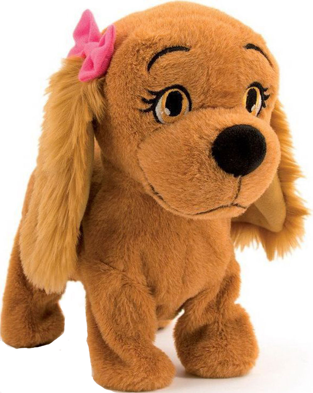 Abtoys Интерактивная игрушка Собака Lucy кардиган lucy