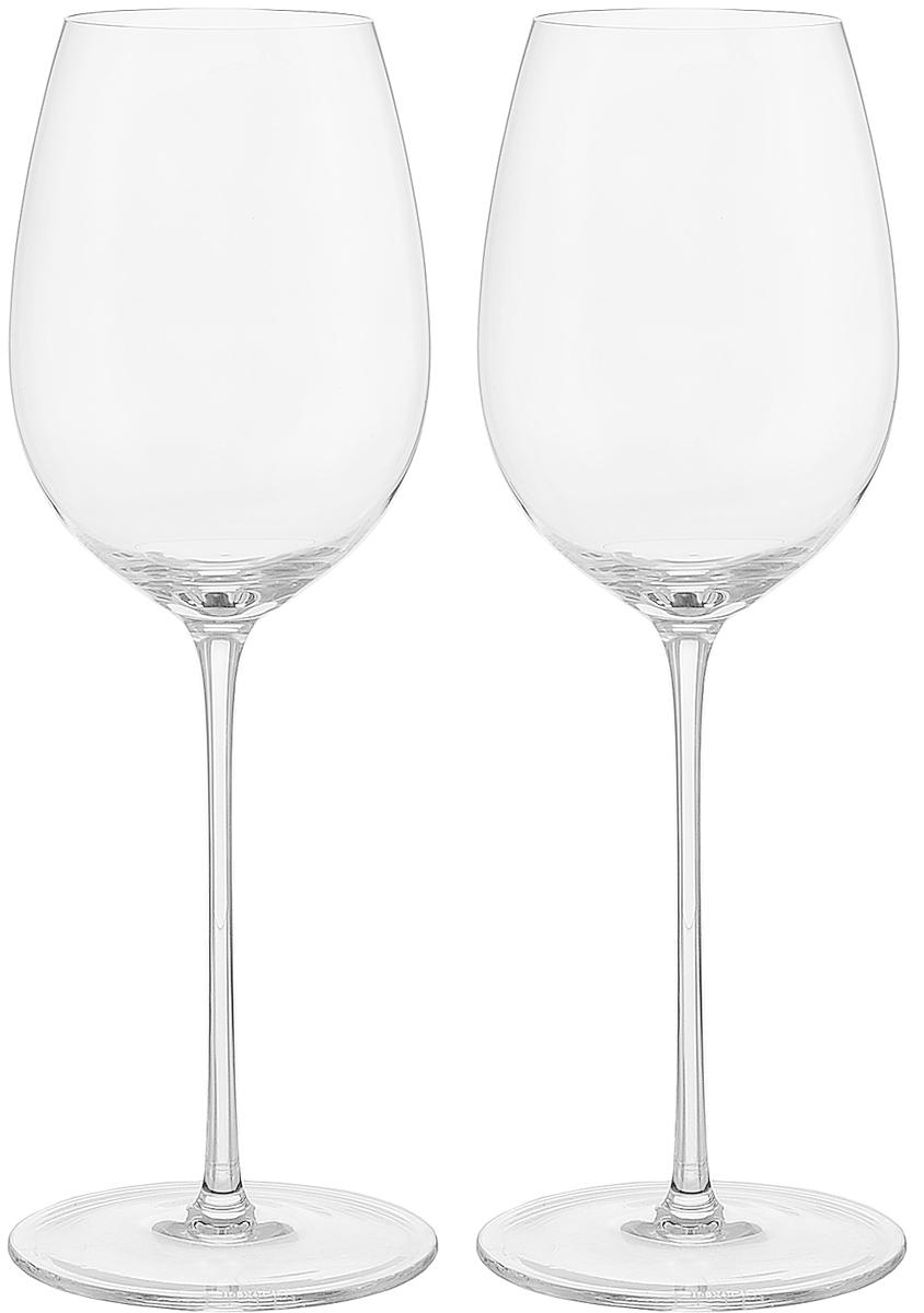 0401/2 Armida, бордо (2шт) хрустальные бокалы ручной работы торговой марки ТМ Strotskis.
