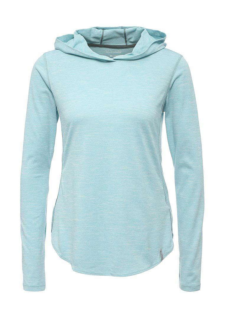 Худи женское Columbia Crystal Point, цвет: голубой меланж. 1724121-341. Размер S (44) худи columbia худи