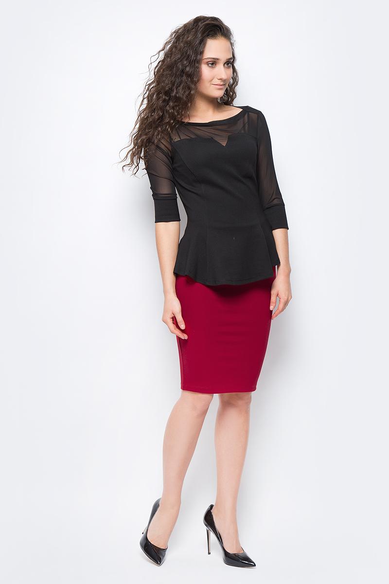 Юбка женская adL, цвет: красный. 12718248067_006. Размер S (42/44) блуза женская nolita цвет роза 12dcl0061 размер s 42