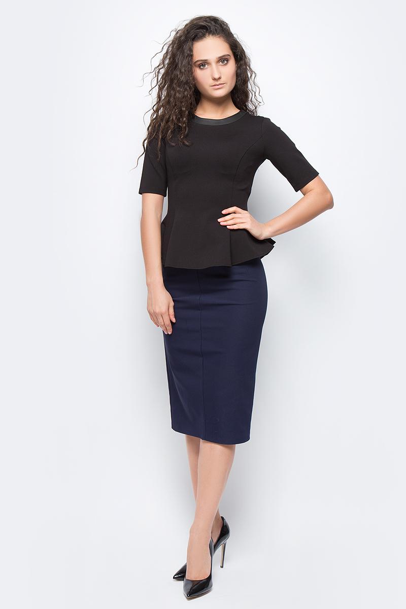 Блузка женская adL, цвет: черный. 11524396007_001. Размер XS (40/42) adl ad005ewsvu51 adl