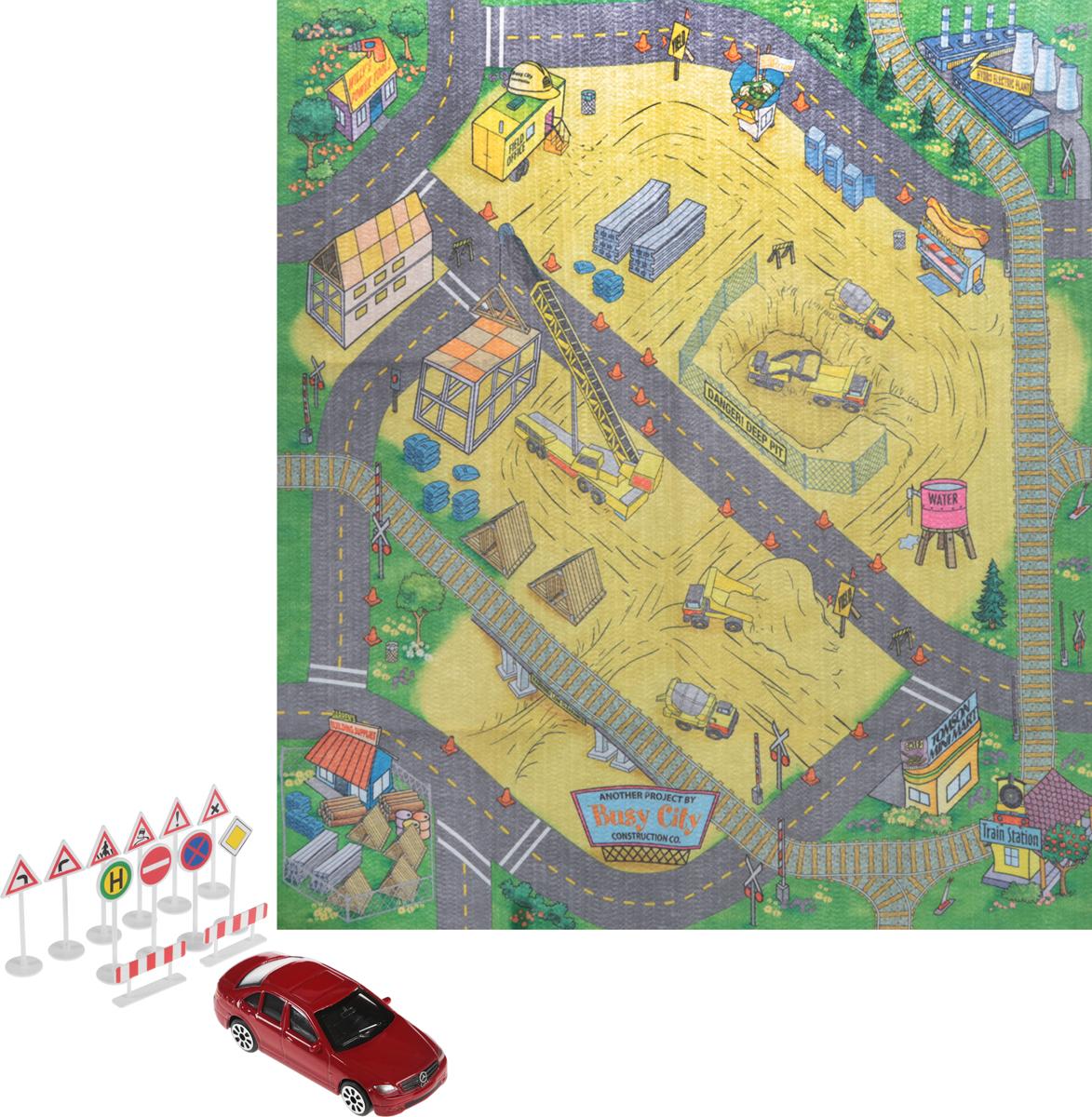 Dickie Toys Игровой набор Construction игровой набор dickie toys dickie toys игровой набор пожарный сэм маленькая морская станция 1 машинка