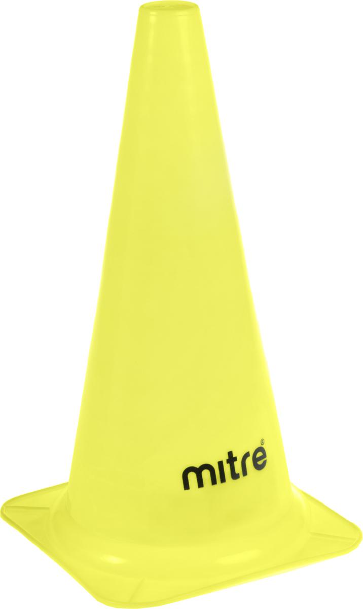 Конус разметочный Mitre, цвет: желтый, 41 см - Аксессуары для командных видов спорта