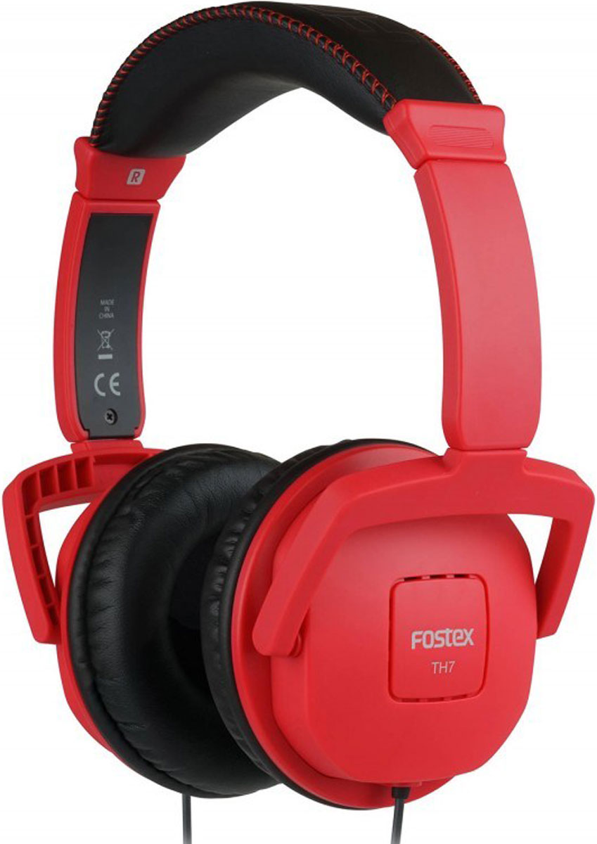Fostex TH7, Red наушники - Наушники