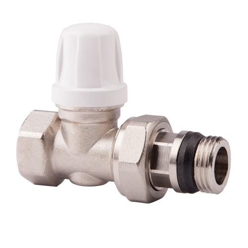 Вентиль радиаторный ICMA, 3/4, без ручки, с антипротечкой, прямой82815AE06 940