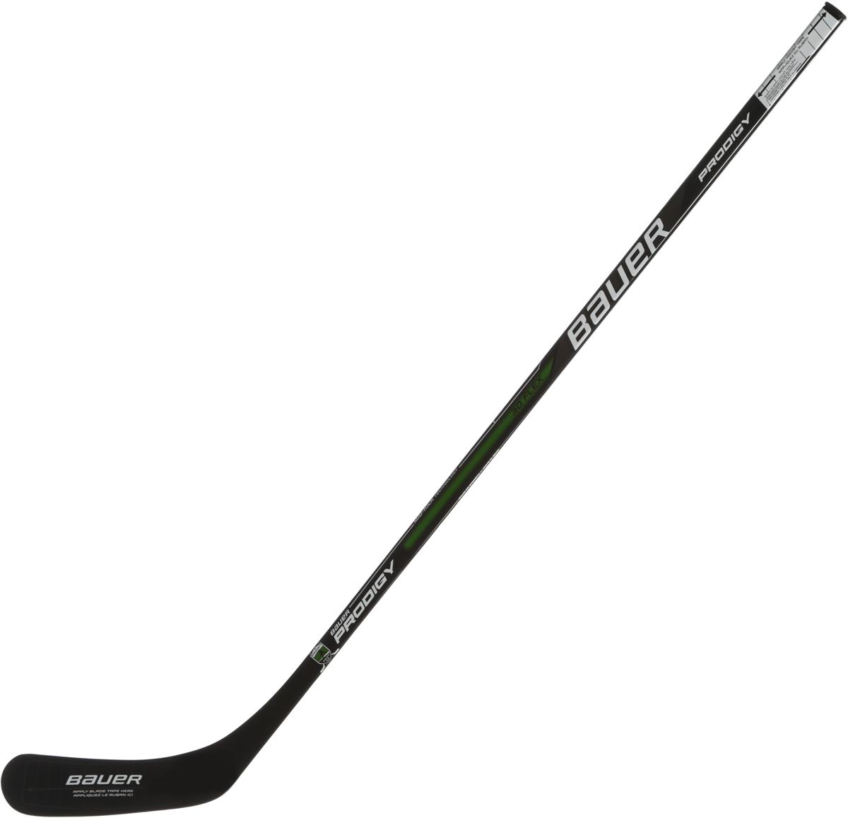 Хоккейная клюшка BAUER Prodigy Comp Stick 42, загиб правый.10502261050226Детская хоккейная клюшка BAUER Prodigy Comp Stick 42 имеет надежную конструкцию крюка с отличным откликом и чувством шайбы. Модель любительского уровня с конструкцией Fused Two-Piece.Усовершенствованный процесс производства исключает дублирование материалов при изготовлении этой модели, устраняя слабые места и делая клюшку более сбалансированной, гибкой и отзывчивой. Постоянная толщина стенок трубы наделяет клюшку отличными игровыми качествами. Дополнительное покрытие R1 Resin System, выполненное на основе эпоксидной смолы, увеличивает прочность и надежность клюшки. Труба имеет скругленные углы и двояковогнутые, боковые стенки, ее сечение Micro Feel II делает клюшку более хваткой, легко управляемой. Точка прогиба находится в нижней части трубы Low Kick Point. На трубу нанесено противоскользящее покрытие, которое фиксирует руку при выполнении броска и не дает клюшке провернуться. Крюк имеет профиль Pure Shot Blade с дополнительно усиленной точкой соединения крюка и трубы, что предотвращает скручивание крюка и увеличивает точность броска. Внутренний сердечник крюка выполнен из пенополиуретана, что обеспечивает хороший баланс, долговечность крюка и отличное чувство шайбы. Слои однонаправленного, углеродного волокна Basketweave Carbon Fiber, которые используются как оплетка крюка, обеспечивают высокую прочность, хороший баланс.Нижняя точка удара + жесткий крюк работают вместе, оптимизируя скоростные броски.- Профиль прогиба VAPOR Low-Kick; - Конструкция рукоятки единая конструкция из 2 частей; - Наружная часть: Крюк из углеволокна с узором плетения; - Внутренняя часть: основа крюка из полиуретана; - Профиль крюка Pure Shot; - Форма рукоятки круглая двояковогнутая рукоятка; - Конусность рукоятки двойное сужение VAPOR Premium; - Покрытие GRIPTAC.