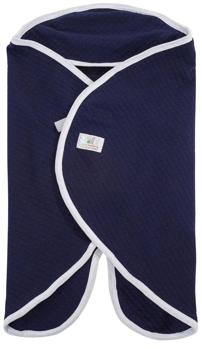 Dolce Bambino Конверт-одеяло универсальный Dolce Blanket цвет синий