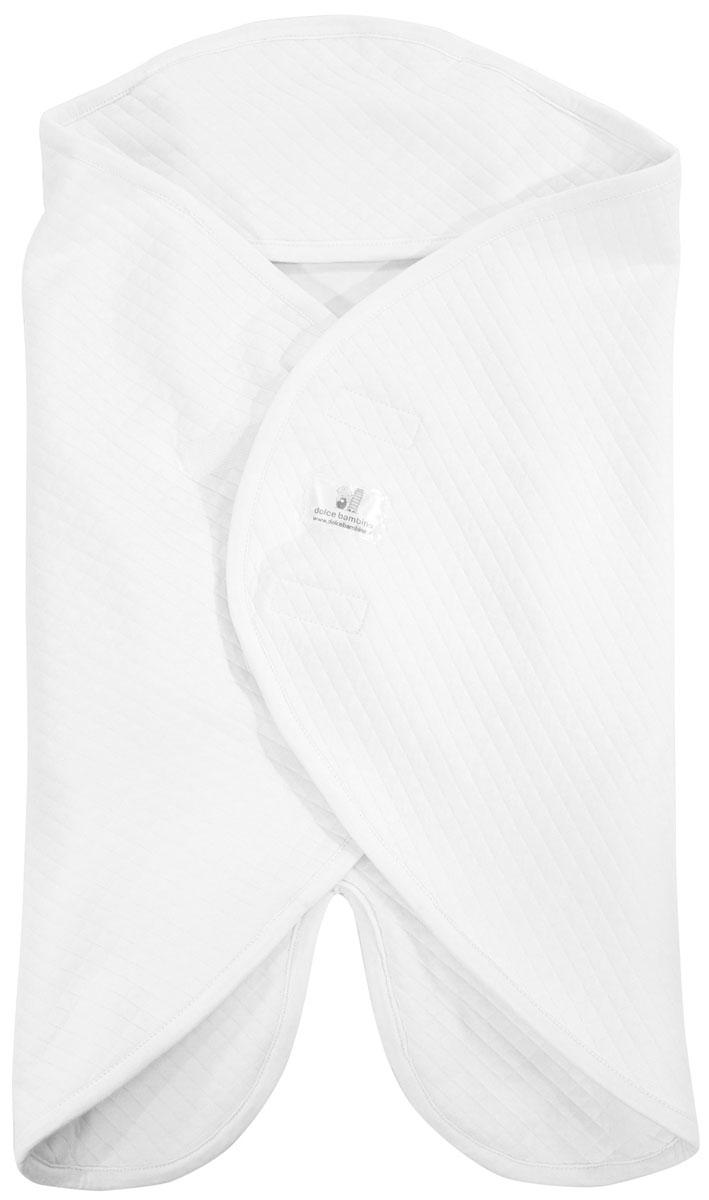 Dolce Bambino Конверт-одеяло универсальный Dolce Blanket цвет белый -  Детский текстиль