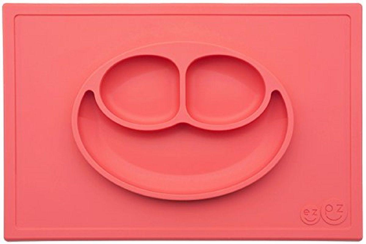 Тарелка FidgetGo Улыбка, с подносом, цвет: красный, диаметр 22 см2212345678145Уникальная новинка, не имеющая аналогов на Российском рынке представляет собой тяжеленькую силиконовую поверхность, представляющую собой поднос (плэйсмат, пространство для игр) с тарелкой.Тарелка благодаря силиконовому дну прилипает к столу и другим равномерным поверхностям, предотвращая беспорядок на кухне. Недоеденная еда так и останется на тарелке или пространстве вокруг нее, не испачкав стол и кухню. Перевернуть тарелку также невозможно, что действительно помогает экономить мамин труд.Детская посуда изготовлена из качественного пищевого силикона, абсолютно гипоаллергенного и безопасного. Еще одной приятной особенностью силиконовых тарелок для детей является то, что их можно мыть в посудомоечной машинке, разогревать в микроволновой печи, что обычно не предусмотрено при использовании других детских тарелочек.Весёлая форма тарелки поднимет настроение вашему ребенку.