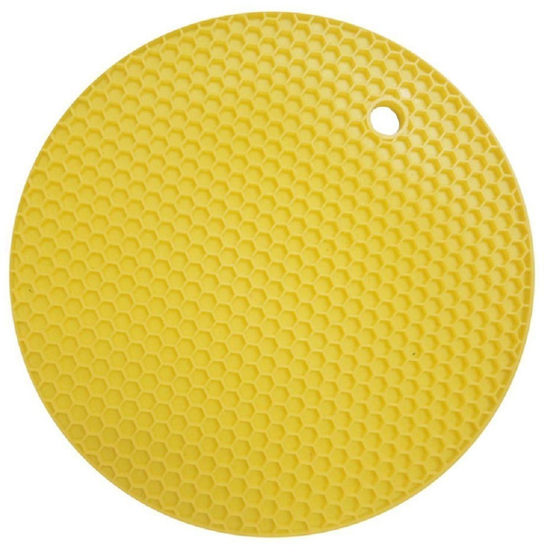 Подставка под горячее FidgetGo Круг, силиконовая, цвет: желтый2212345678168На современной кухне силиконовые изделия занимают все больше места. Так как этот материал удобен в обращении, он легкий, к нему не пристает жир и масло, моется легко в теплой воде!Подставка силиконовая под горячее - это практичная и удобная вещь, на нее можно поставить горячую сковороду, кастрюли, противень и многое другое. Подставка не скользит по поверхности, даже если покрытие стола глянцевое! Подставка выдерживает до 230°С, сделана из безопасного пищевого силикона. Ее можно мыть в посудомоечной машине или использовать в микроволновке