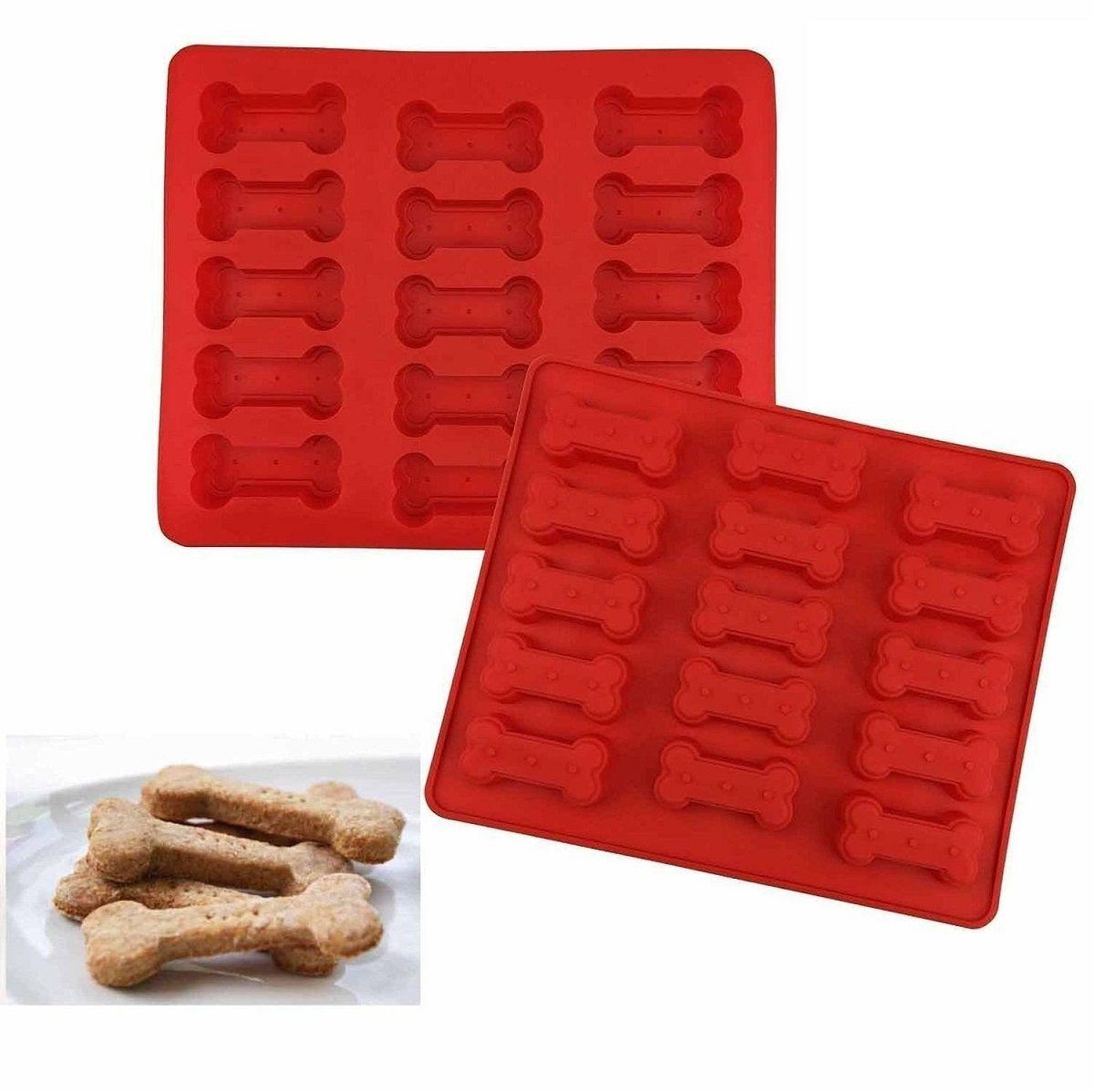 Форма для печенья FidgetGo Косточки, цвет: красный, 15 ячеек, 30,2 х 25,2 х 2,3 см2212345678906Форма в виде косточек отлично подходит для выпечки, производства конфет с использованиемшоколада, желе и льда.Форма для выпечки из силикона - современное решение дляпрактичных и радушных хозяек.Преимущества формы для выпечки:- блюдо сохраняет нужную форму и легко отделяется от стенок после приготовления;- высокая термостойкость (от -40 до 230°C) позволяет применять форму в духовых шкафах иморозильных камерах;- небольшая масса делает эксплуатацию предмета простой даже для хрупкой женщины;- силикон пригоден для посудомоечных машин;- высокопрочный материал делает форму долговечным инструментом;- при хранении предмет занимает мало места.