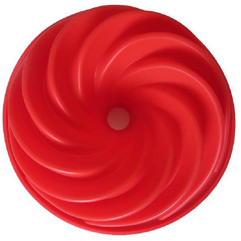 Форма для кекса FidgetGo Спираль, цвет: красный2212345678911Благодаря этой силиконовой форме для кекса Вы всегда будете готовы к предстоящему празднику, так как она определенно заставит ваших гостей поразиться получившемуся элегантному кексу или торту. Форма спроектирована так, чтобы помочь вам стать мастером кекса без какого-либо обучения.Гибкая и антипригарная силиконовая форма для кекса, отлично держит форму. Она предназначена для быстрого выпекания. Кекс очень легко вынимается из формы .Все, что Вам необходимо сделать, это охладить, а затем перевернуть.Формочка выполнена из высококачественного эластичного термоустойчивого силикона, выдерживающего температуру от -40°С до +230°С.НАДЕЖНЫЕ КАЧЕСТВЕННЫЕ МАТЕРИАЛЫ: когда речь заходит о наших силиконовых формах и других кухонных принадлежностях, мы гарантируем использование нетоксичных, не содержащих BPA материалов, а также самых современных производственных процессов и строгий контроль качества.