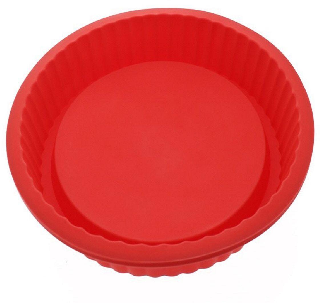 Форма для выпекания FidgetGo Pie, цвет: красный2212345678916Гибкая и антипригарная силиконовая форма для кекса, отлично держит форму. Она предназначена для быстрого выпекания. Кекс очень легко вынимается из формы. Все, что Вам необходимо сделать, это охладить, а затем перевернуть. Вы можете готовить в ней не только кексы, но и пироги, коржи для торта, хлеб.Формочка выполнена из высококачественного эластичного термоустойчивого силикона, выдерживающего температуру от -40°С до +230°С.НАДЕЖНЫЕ КАЧЕСТВЕННЫЕ МАТЕРИАЛЫ: когда речь заходит о наших силиконовых формах и других кухонных принадлежностях, мы гарантируем использование нетоксичных, не содержащих BPA материалов, а также самых современных производственных процессов и строгий контроль качества. Она безопасна для морозильной камеры, духовки, микроволновой печи и посудомоечной машины.