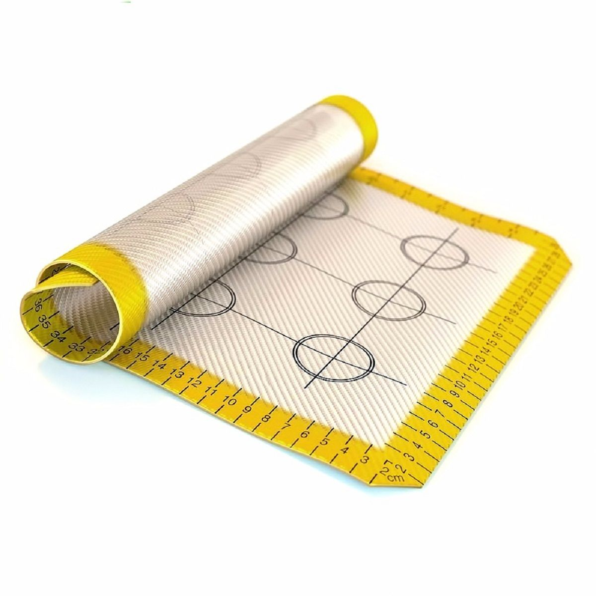 Коврик для выпекания FidgetGo, силиконовый, цвет: желтый, 40 х 30 см2212345678917Почему антипригарный силиконовый мат? Более легкая уборка после выпекания фруктовых пирожных, пиццы, печенья, рыбы, раскатывания теста. Больше ничего не прилипает! Строго протестированная, революционная поверхность без прилипания продуктов, означает, что вы будете использовать его каждый день, много лет! Продвинутая технология воздушной циркуляции обеспечивает равномерное приготовление, превосходную золотистую корочку: не нужно масло, вы все равно получите эту совершенную золотую текстуру, которую вы жаждете, без сырых или сожженных краев.Этот силиконовый мат заменит пергаментную бумагу и противень! Все просто.Надежные качественные материалы: Когда речь заходит о наших силиконовых формах и других кухонных принадлежностях, мы гарантируем использование нетоксичных, не содержащих BPA материалов, а также самых современных производственных процессов и строгий контроль качества. Его можно использовать для морозильной камеры и в посудомоечной машины.