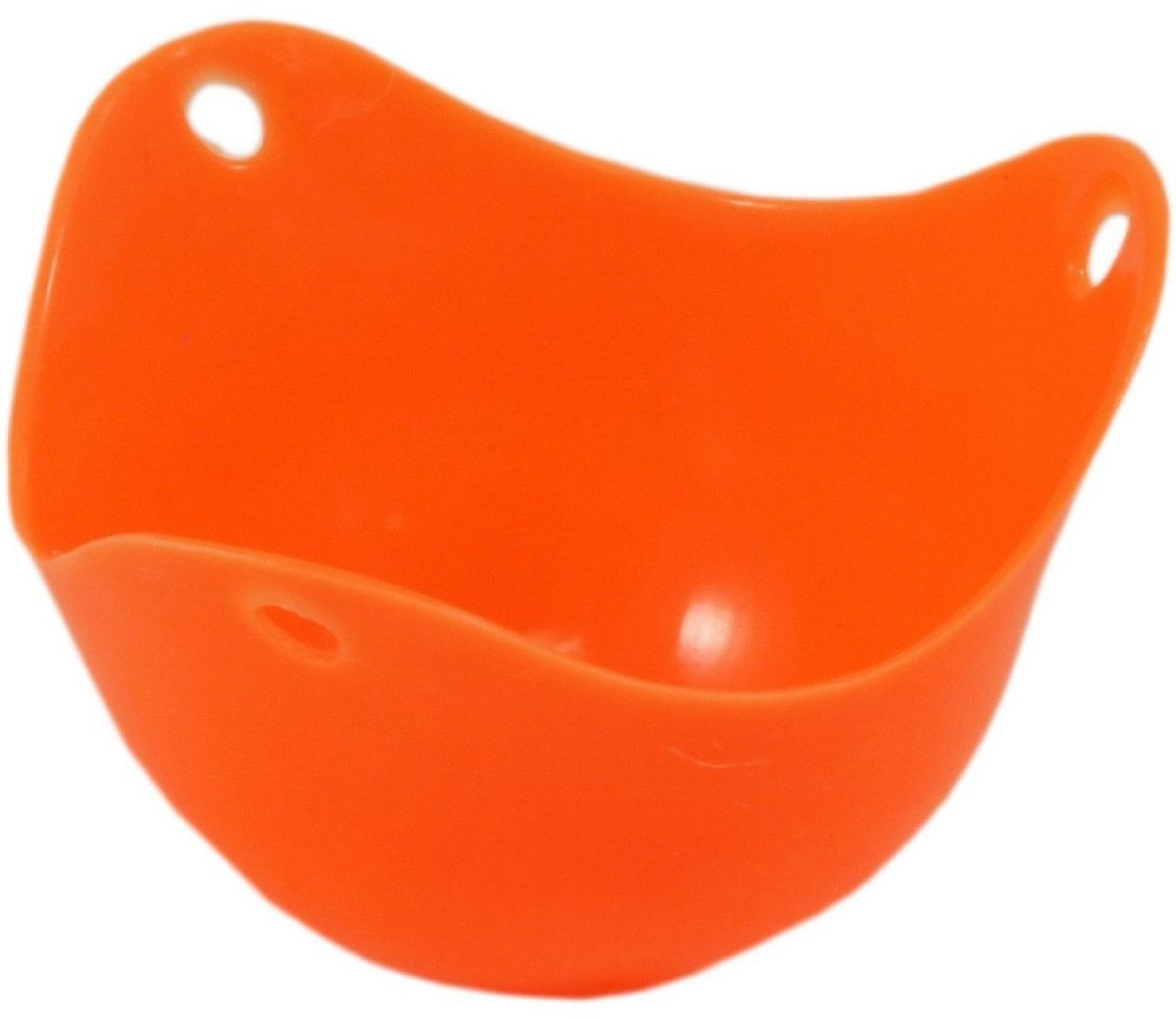 Форма для варки яиц FidgetGo Пашот, цвет: оранжевый, 9 х 6 см2212345678941С этой формой для варки яиц приготовить традиционное французское блюдо для завтрака - яйца пашот становится очень просто!.Разбейте яйцо в гибкую силиконовую форму и опустите ее в кипящую воду. Ну а через несколько минут выньте, переверните формочку и нежно надавите – готовый завтрак сам упадет вам в тарелку! Форма выдерживает до 230°С, сделана из безопасного пищевого силикона. Ее можно мыть в посудомоечной машине или использовать в микроволновке.