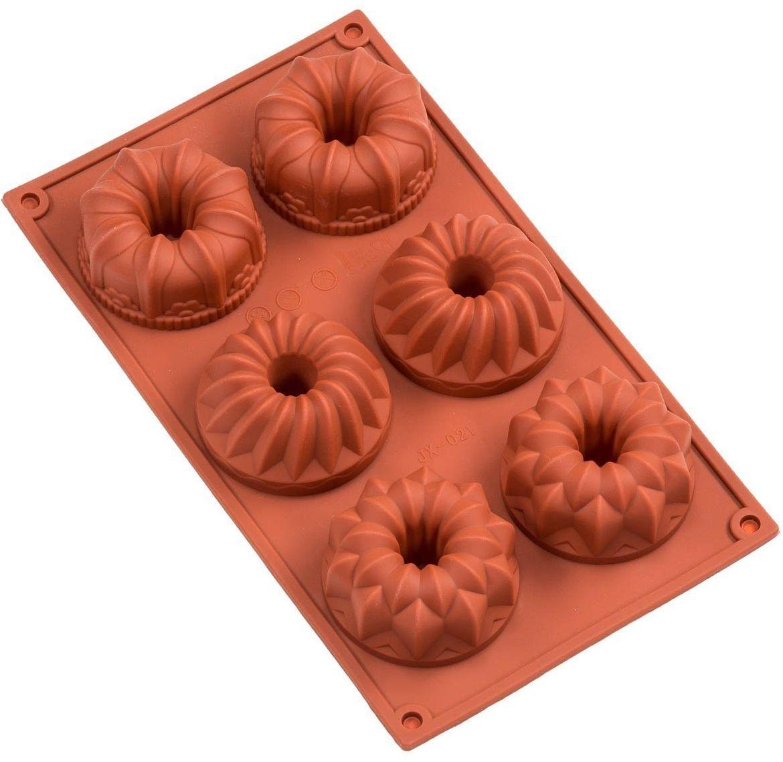 Форма для кексов FidgetGo Микс, силиконовая, цвет: красный, 29,5 х 17 см2212345678951Теперь процесс выпекания и результат будет вызывать у вас массу удовольствия, а не огорчение и раздражение.Силиконовая форма для кексов:Выдерживает любые перепады температур. Вы можете поместить тесто из морозильной камеры сразу в горячую духовку;Выпечка готовится намного быстрее, чем на привычном противне;Исключено пригорание продукта и обеспечено равномерное запекание со всех сторон, благодаря возможностям силикона;Теперь в вашей семье для каждого найдется именно свой кекс.Готовьте с удовольствием!