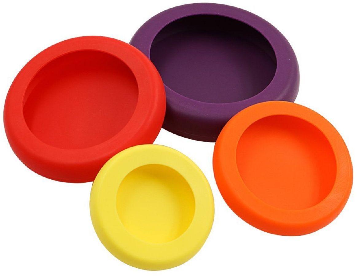 Колпачки-подставки FidgetGo, для отрезанных продуктов2212345678959Колпачки - подставки сохраняют продукты и изолируют неприятные запахи.Могут служить герметичными крышками для стеклянных и консервных банок и бутылок. Легко моются, просты в использовании и экономят ваши деньги, сохраняя продукты свежими.Колпачки выполнены из пищевого силикона. Силикон выдерживает температуры от - 40°С до 230°С, не впитывает посторонние запахи и обладает грязеотталкивающими свойствами.