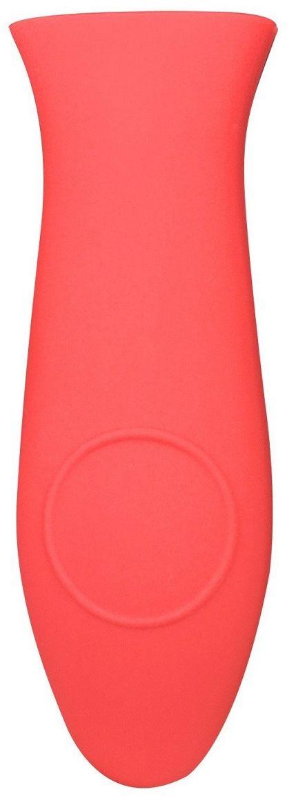 Насадка для раскаленной ручки сковороды FidgetGo, цвет: красный, 14,3 х 5 см2212345678962Если надоело использовать прихватки и перчатки, чтобы взять за горячую ручку любимую сковородку при готовке, определенно стоит обзавестись специальной насадкой для раскаленной сковороды.Она выполнена из силикона и повторяет форму ручки. Предназначена для сковородок со стальными или чугунными ручками. Может выдерживать температуру до +230°С. Приятна на ощупь и не выскальзывает из рук. Ее можно легко надеть на ручку уже разогретой сковородки.Силикон выдерживает температуры от - 40°С до 230°С, не впитывает посторонние запахи и обладает грязеотталкивающими свойствами.