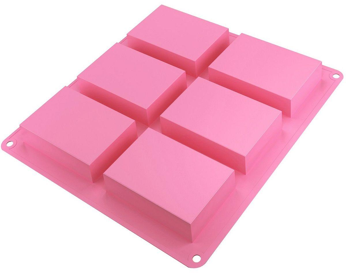 Форма для приготовления кексов FidgetGo, силиконовая, цвет: розовый, 23,5 х 21 х 2,5 см2212345678172Силиконовые формы для кекса выдерживают большие температуры, являются абсолютно безопасными. Биологическая инертность этих полимеров говорит о их экологической чистоте, стойки к огромным перепадам температур (от -70°С до +210°С), что увеличивает ассортимент возможностей. Силиконовые формы набирают популярность благодаря гибкости материала – свежеприготовленный кекс без труда вынимается из такой формы. Силиконовые полимеры не чувствительны к влияниям разнообразных веществ. Это могут быть - жир, влага, масло. Особенность таких форм - безвредность для здоровья, универсальность в применении, долговечность. Не смотря на то, что силиконовые формы обладают повышенной гибкостью и мягкостью, при этом они в достаточной степени прочные.