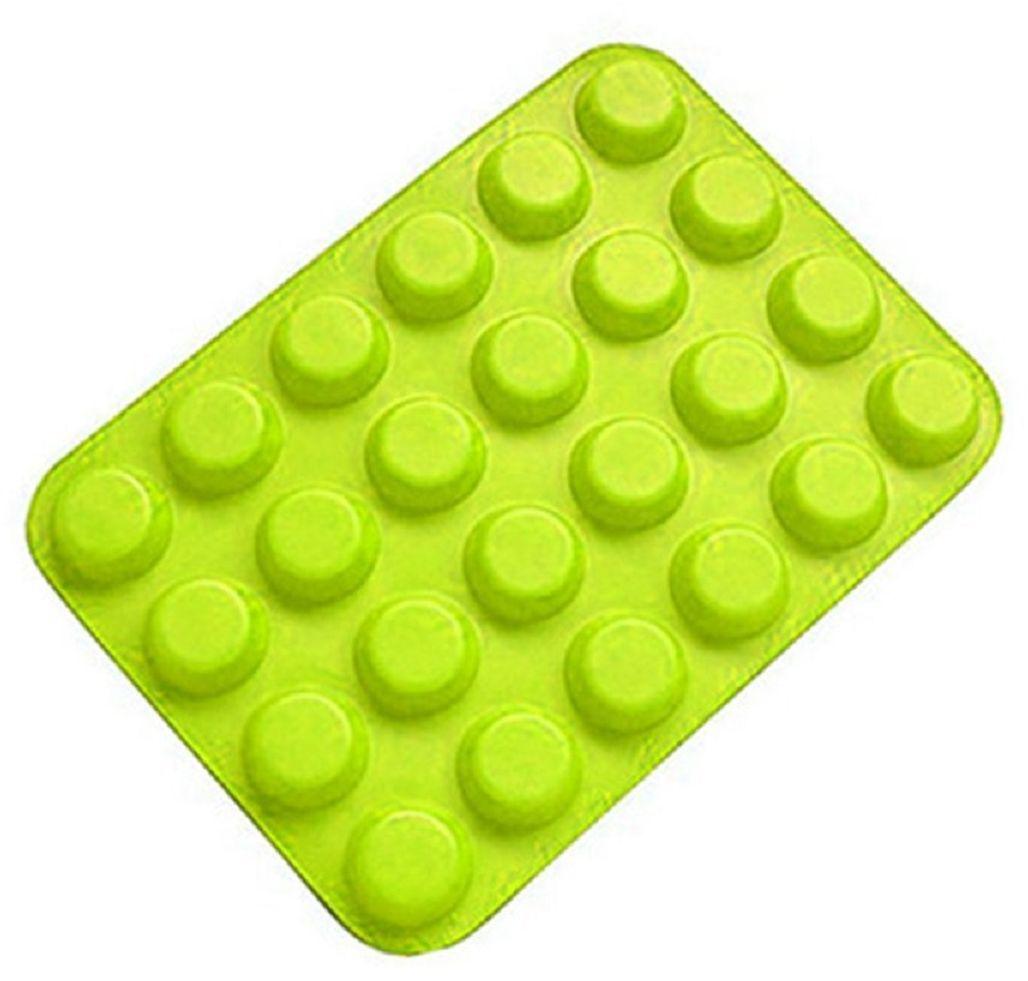 """Испечь свои любимые сладкие лакомства легко и быстро! Форма для мини-кексов """"Fidget Go"""" выполнена из силикона с антипригарным покрытием. Просто вылейте тесто, выпекайте, а затем вытащите кексы из гибкой формы. Вы также можете использовать форму не только для кексов, но и для приготовления шоколадных или желейных конфет, замороженного йогурта или льда. Эта силиконовая форма спроектирована и изготовлена с учетом горячих и холодных обработок и хорошо противостоит низкой и высокой температурам в диапазоне от -40°С до +230°С. Независимо от того, какие способы приготовления вы используете для нее, силикон не проявит ни малейшего признака износа. Она безопасна для морозильной камеры, духовки, микроволновой печи и посудомоечной машины.   Как выбрать форму для выпечки – статья на OZON Гид."""
