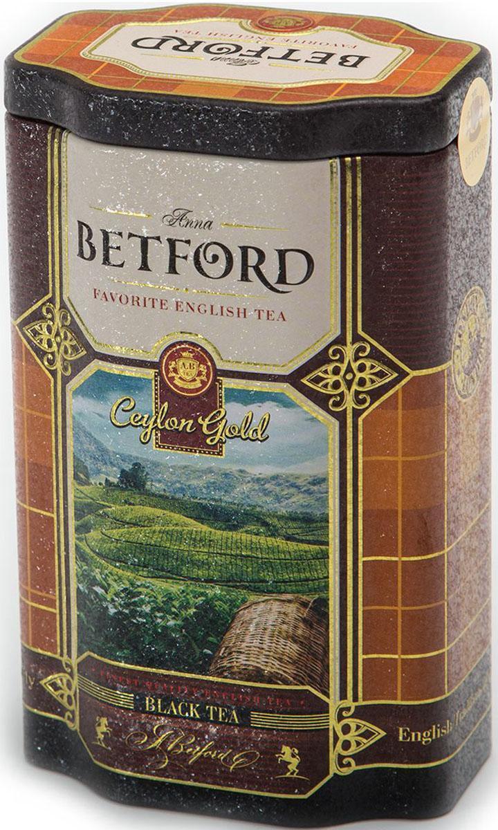 Betford Ceylon Gold чай черный байховый, 80 г4792021032196Чай Betford Ceylon Gold (Золото Цейлона) в жестяной банке Страна происхождения сырья: Шри-ЛанкаСырье ОРА – Оранж пекое, категории А – чай из цельных (до 3-4 см длиной) верхних наиболее сочных листьев. При заваривании получается чайный напиток с оранжевым оттенком, нежным вкусом и ароматом.Состав: чай черный байховый цейлонский стандарт ОРАСорт: высший, стандарт ОРАПроизводитель : Шри ЛанкаСрок годности: 36 месяцев с даты изготовления.Фасовка: ж/б, 80 г.В коробке: 72 банкиВсё о чае: сорта, факты, советы по выбору и употреблению. Статья OZON Гид