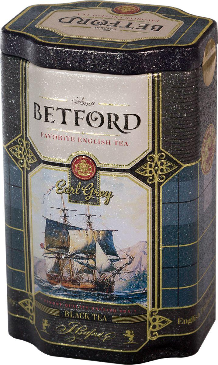 Betford Earl Grey чай черный с бергамотом, 80 г greenfield royal earl grey черный листовой чай 250 г